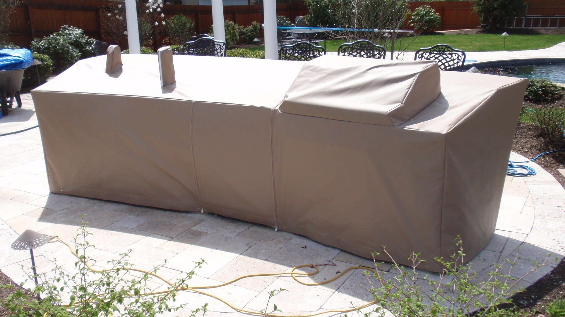 custom outdoor kitchen covers kitchen covers grill