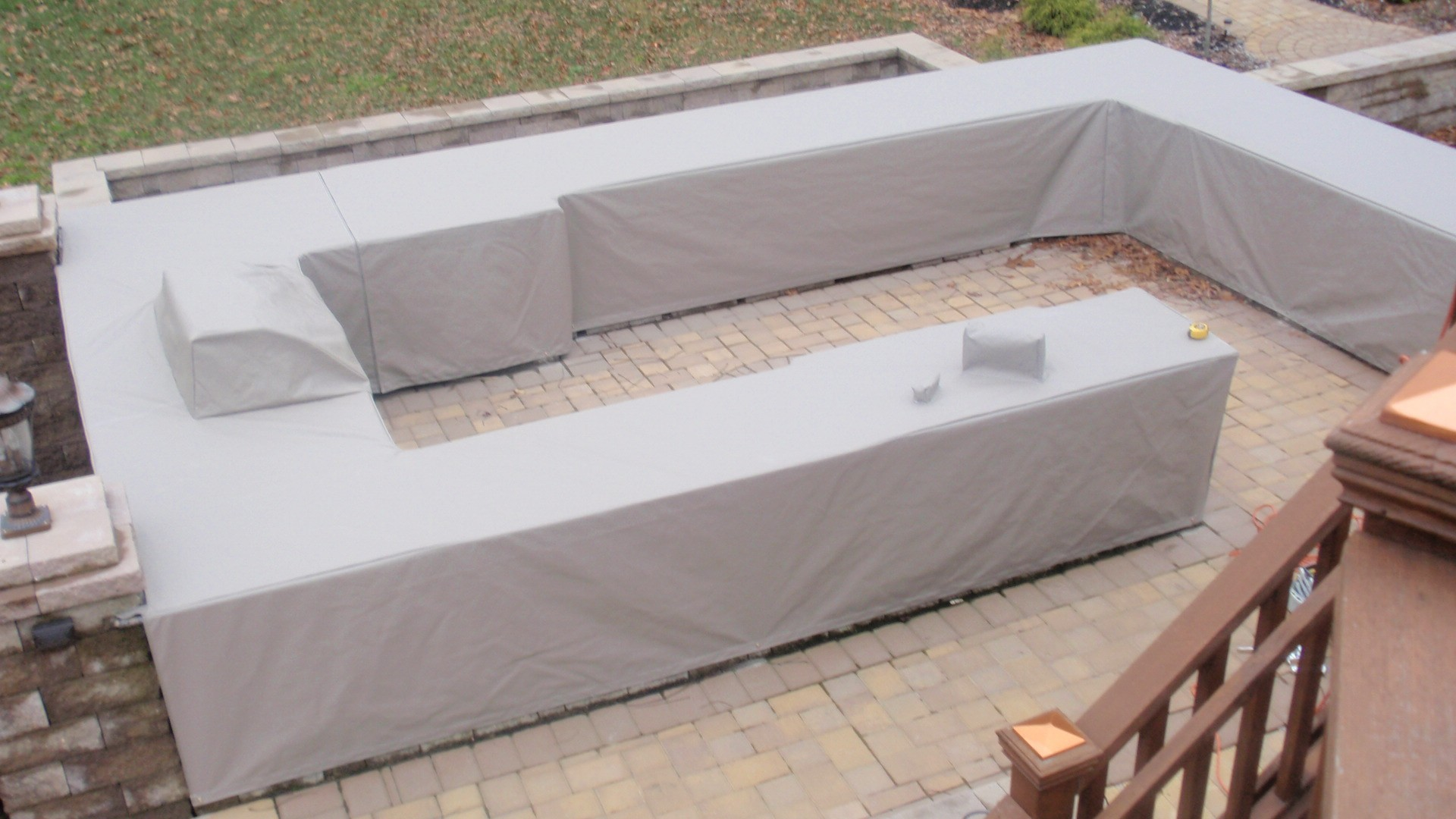 outdoor kitchen covers pool covers fire pit covers fountain covers