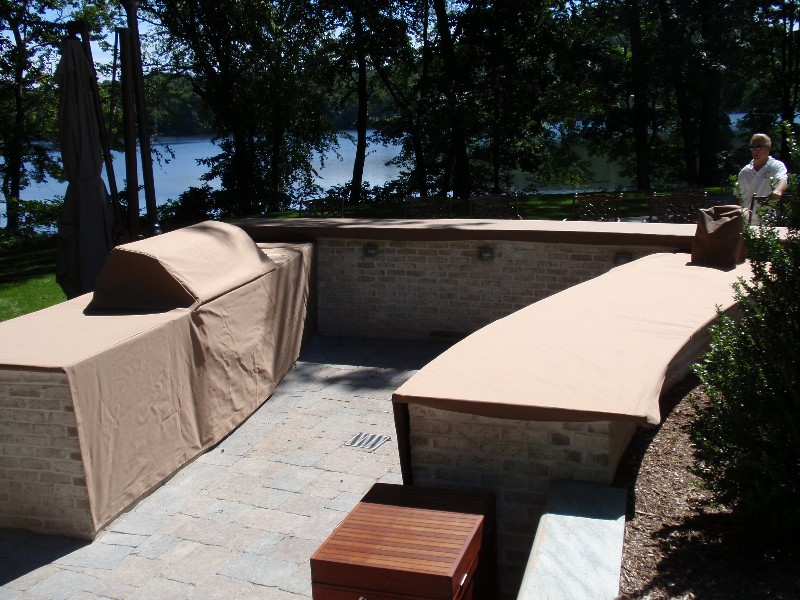 Outdoor Kitchen Covers | Custom Kitchen Covers, Grill Covers ...
