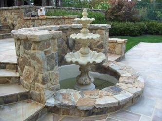 Outdoor Fountain Covers Custom Outdoor Waterfall Garden