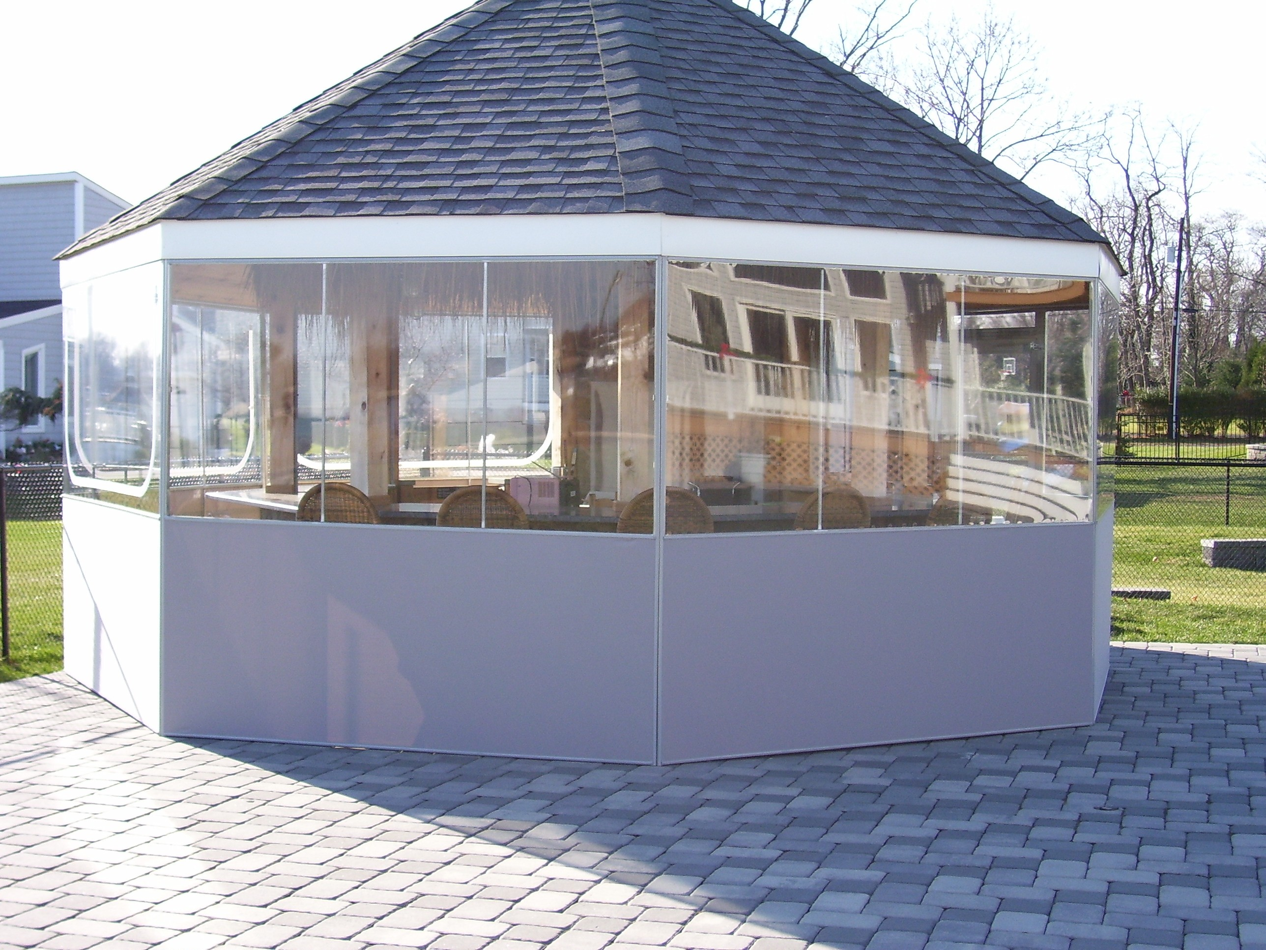 Custom canvas custom outdoor applications enclosures for Exterior enclosure